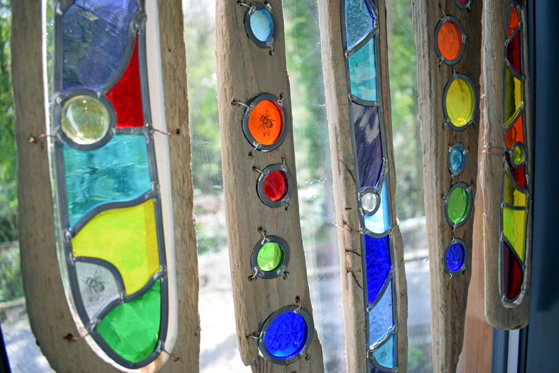 Meet the makers get creative sheffield industrial for How to make stained glass in driftwood