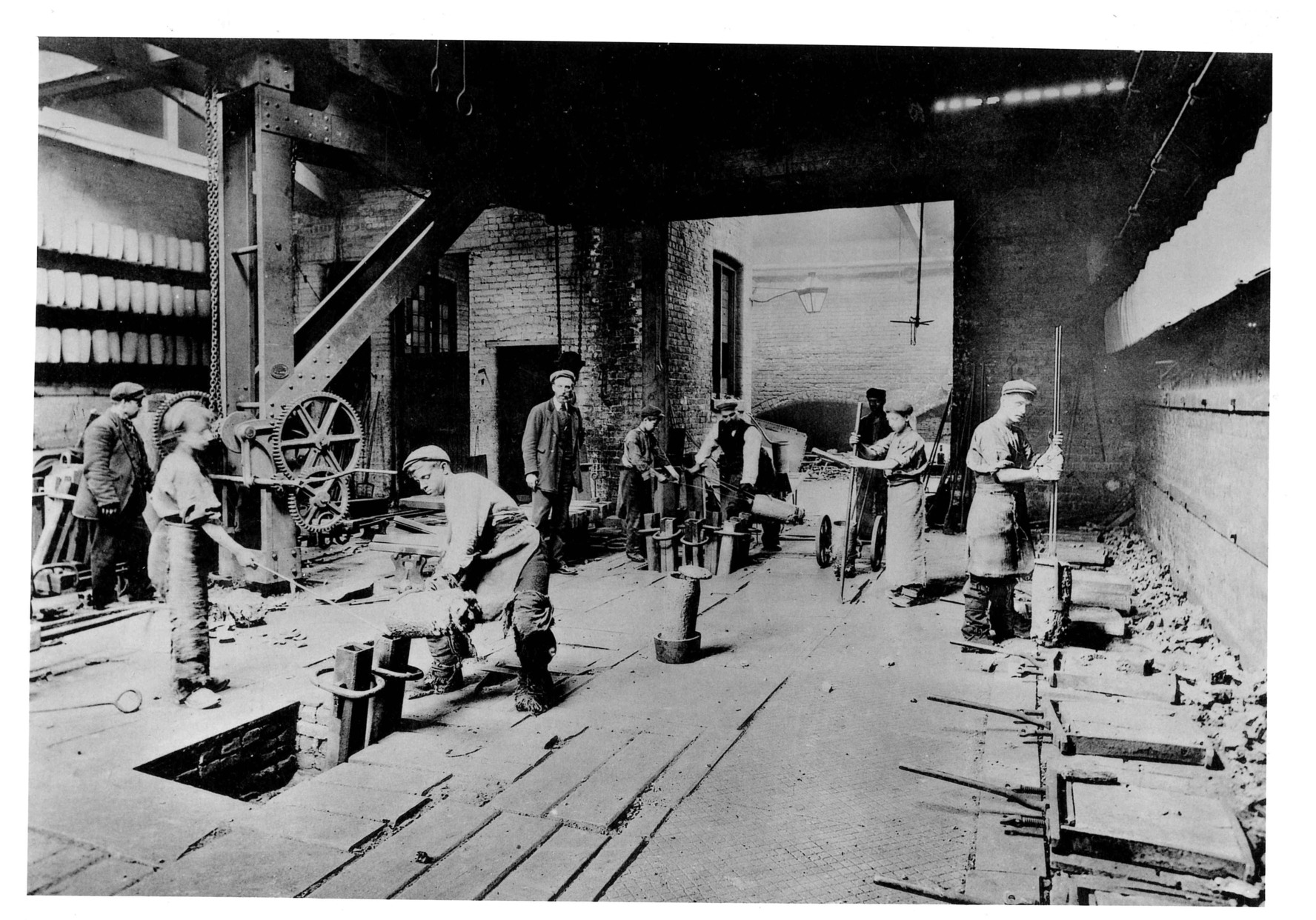 Cammell Laird Works 1905