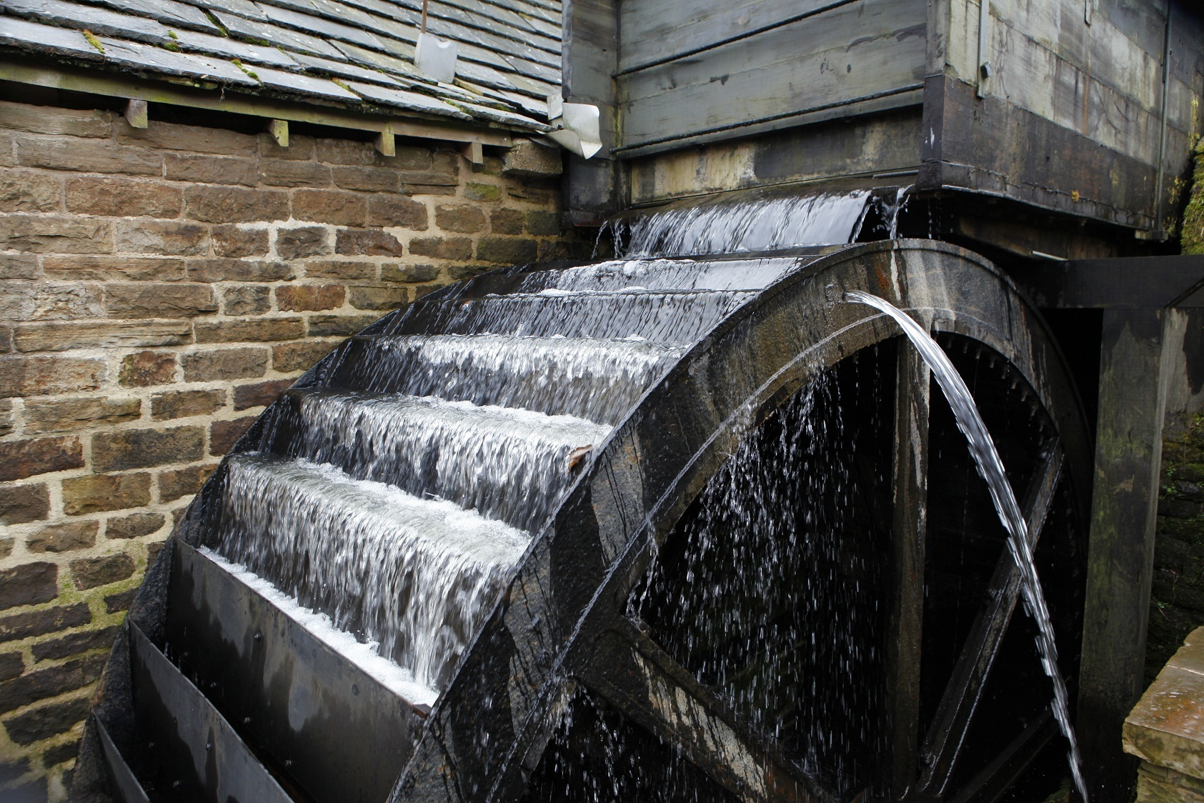 See the restored waterwheel turn at Shepherd Wheel