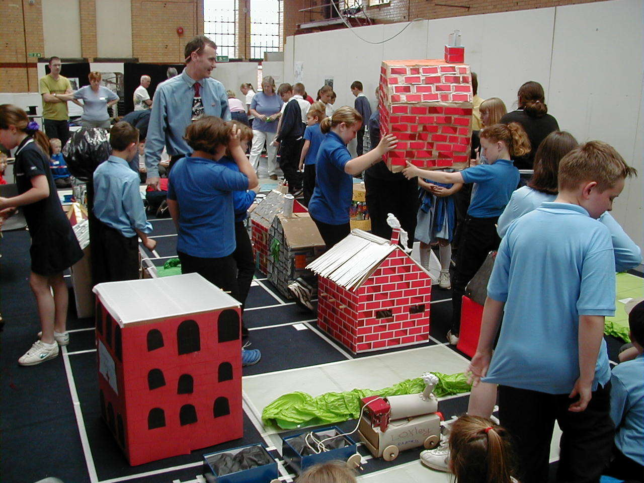 Over 750 pupils take part in Build It every year