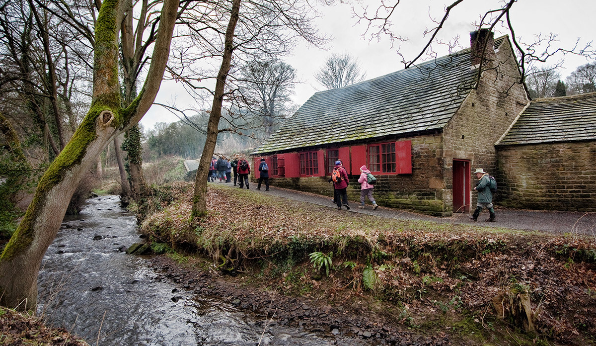 Explore the picturesque Porter Valley and the water-powered workshops along Sheffield's rivers
