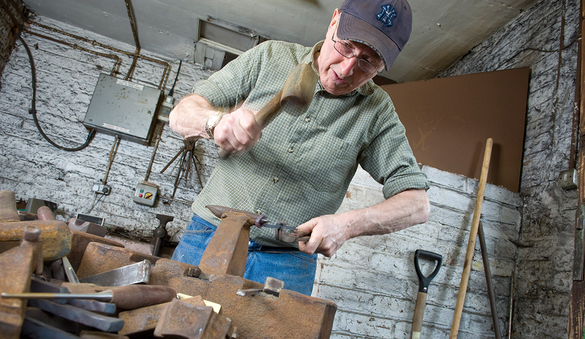 Take a stroll along our Little Mesters Street workshops and see skilled craftsmen at work