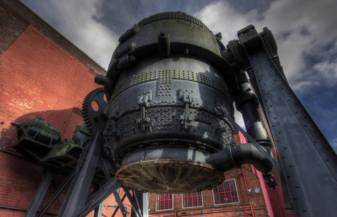 The Iconic Bessemer Converter get a facelift!