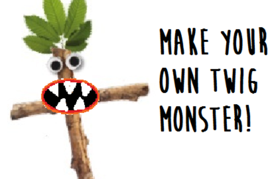 Make Your Own Wednesdays - Twig Monster