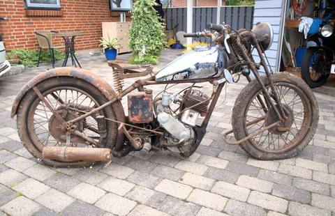 Rare Sheffield Motorcycle to be displayed at Kelham Island Museum